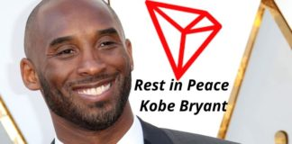 Tron Foundation Mourns the Passing of its Member, Kobe Bryant