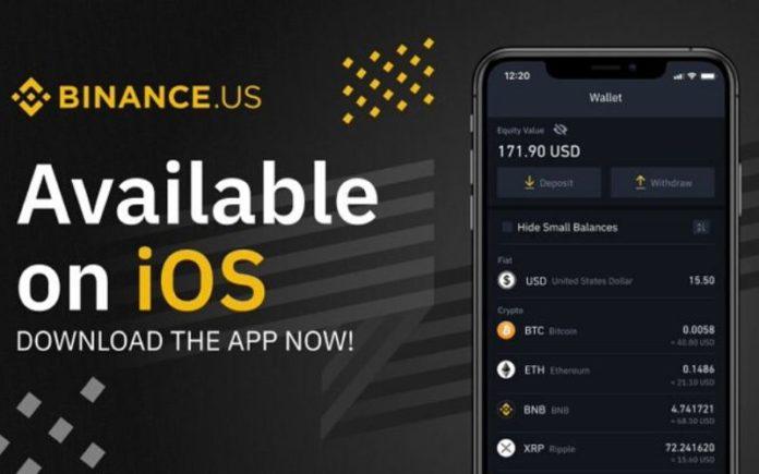 Binance.US iOS App Listed on Apple App Store