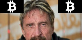 John McAfee Brands Bitcoin (BTC) as Worthless