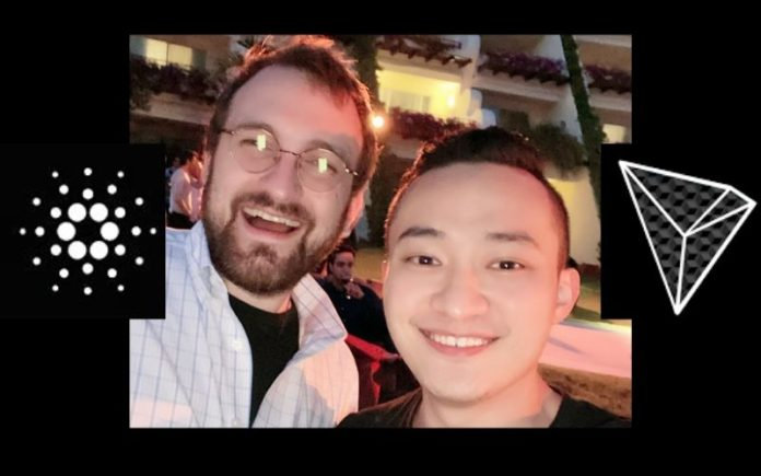 Cardano's Charles Hoskinson Having Good Time with Justin Sun at Satoshi RoundTable