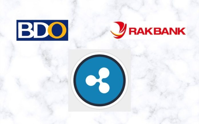 RAKBANK, BDO Unibank and Ripple Team Up for Remittance to the Philippines