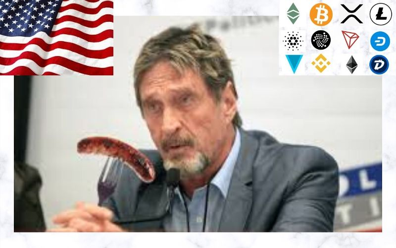 Privacy Coins and Distributed Exchanges Will Soon Be Outlawed –John McAfee