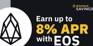 Binance Announces Its Move to Add EOS to Customizable Locked Savings