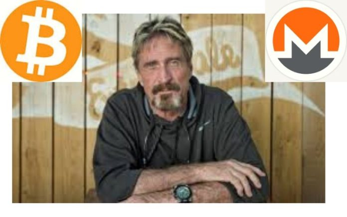 John McAfee: No One Accepts Bitcoin (BTC) Anymore, Monero (XMR) is Most Widely Used Coin