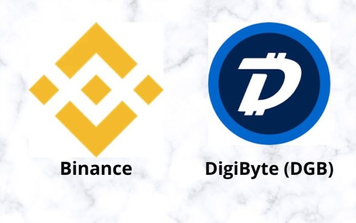 DigiByte (DGB) Listed On Binance Exchange with Three Trading Pairs
