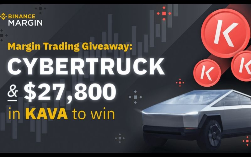 Binance to Giveaway Tesla Cybertruck and $27,800 to Celebrate Kava Token Listing. See How to Win