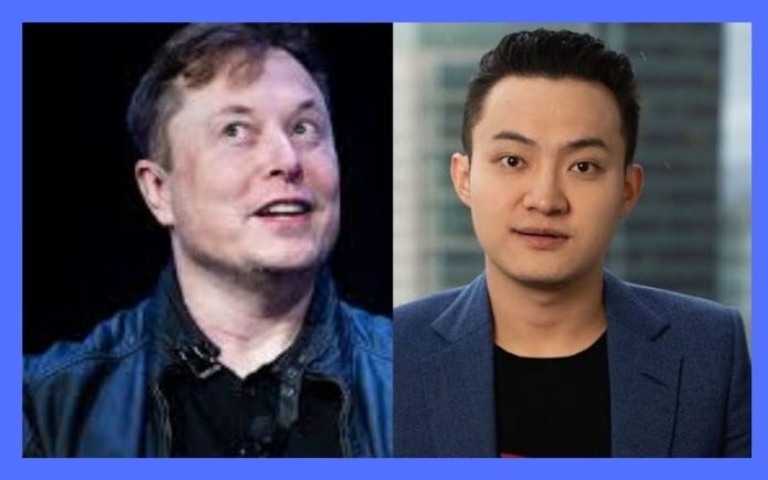 Justin Sun Introduces Tron (TRX) to Elon Musk after Disclaiming Interest to Use or Hold Ethereum (ETH)