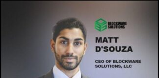 Bitcoin Pioneer and Founder of Blockware Solutions, Mathew D'Souza Dies At 29