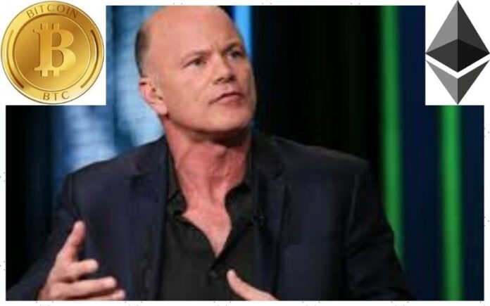 Novogratz: Galaxy Digital Holds 70% BTC 25% ETH 5% DeFi; Says Rally Will Extend into 2022