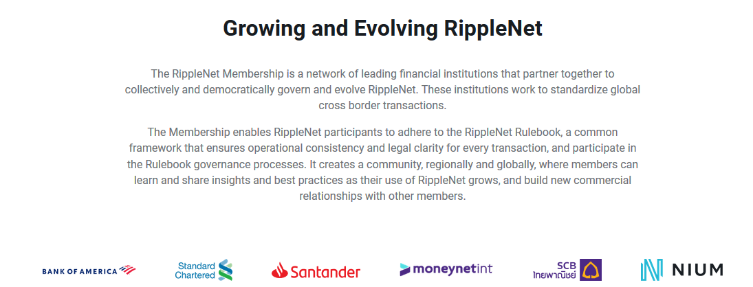 Ripple Has Officially Added Bank of America (BoA) to the List of Top RippleNet Members on Its Website