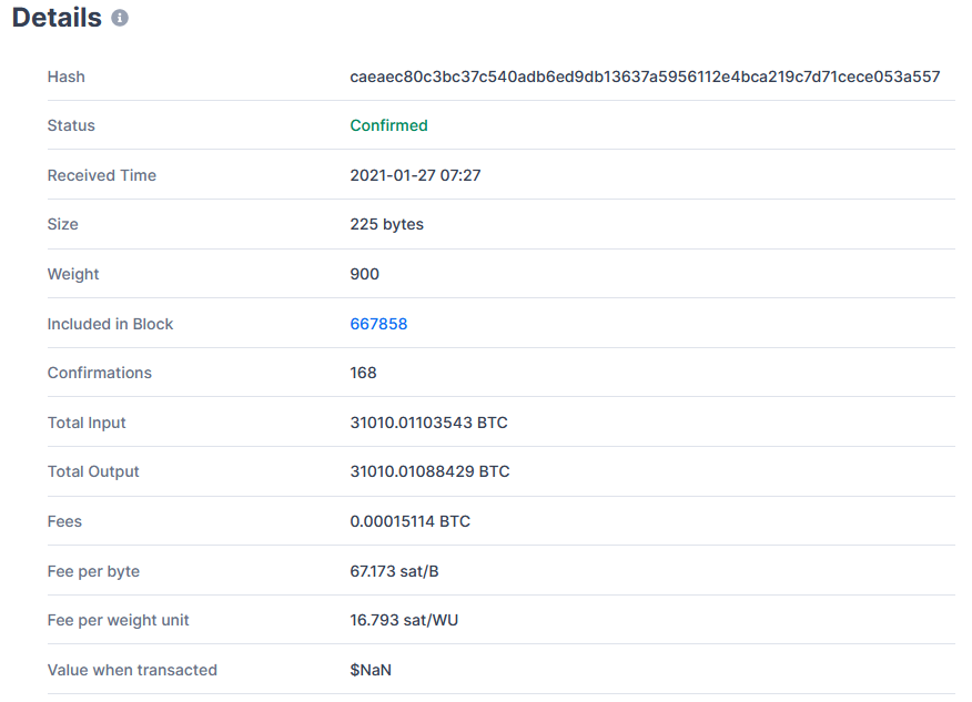 Twenty-Third Largest Bitcoin Whale Moved $1,037,873,690 in BTC for Just $5.06