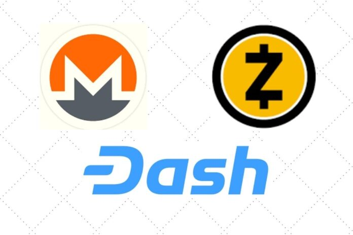 Privacy Coins like Monero (XMR), Dash Continues to Record Gains despite Bittrex Delisting