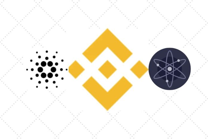 Binance Launches Cardano (ADA) and Cosmos (ATOM) Stakings