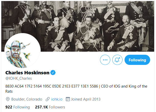 Cardano's Charles Hoskinson Twitter Account Finally Verified
