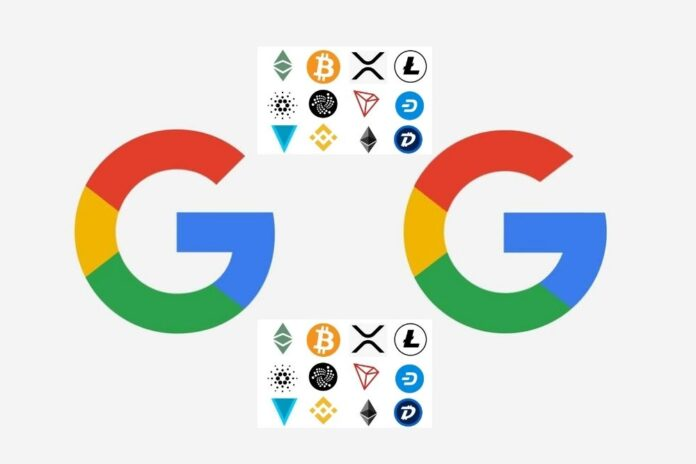 Google Now Features BTC, ETH, LTC, and BCH Prices on Its finance.google.com Domain
