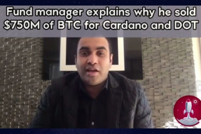 Dubai-Based FD7 Ventures Manager Explains Why He Sold $750M in BTC for Cardano and Polkadot