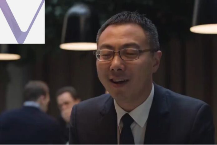 VeChain CEO Sunny Lu Explains Blockchain and Central System Using the Power of Love