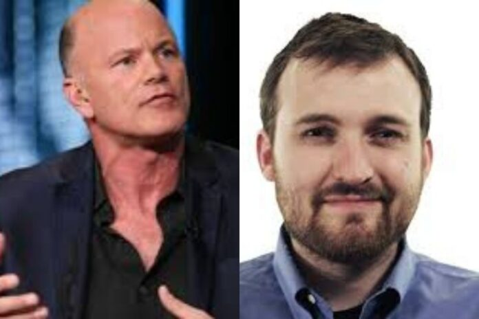 Mike Novogratz Accepts Call With Charles Hoskinson To Prove Him Wrong About Cardano (ADA).