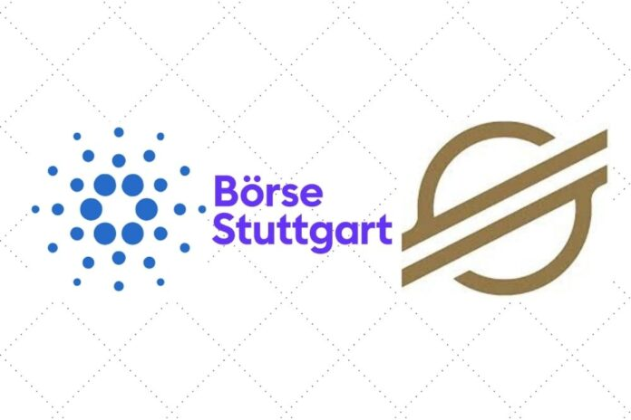 Cardano (ADA) and Stellar Lumens (XLM) Can Now Be Traded At Boerse Stuttgart Digital Exchange