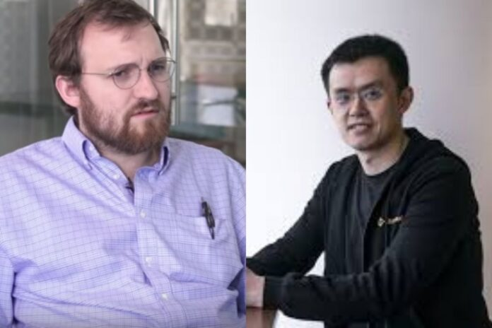 Cardano Creator Had Dinner with Governor of Wyoming, CZ Says It's a Good Work towards Crypto Regulation