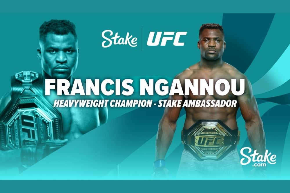 UFC Champion Francis Ngannou joins forces with Stake.com