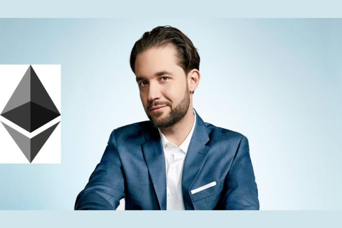 Reddit Co-Founder Alexis Ohanian: A Lot of My Crypto Holdings Are In Ethereum (ETH)