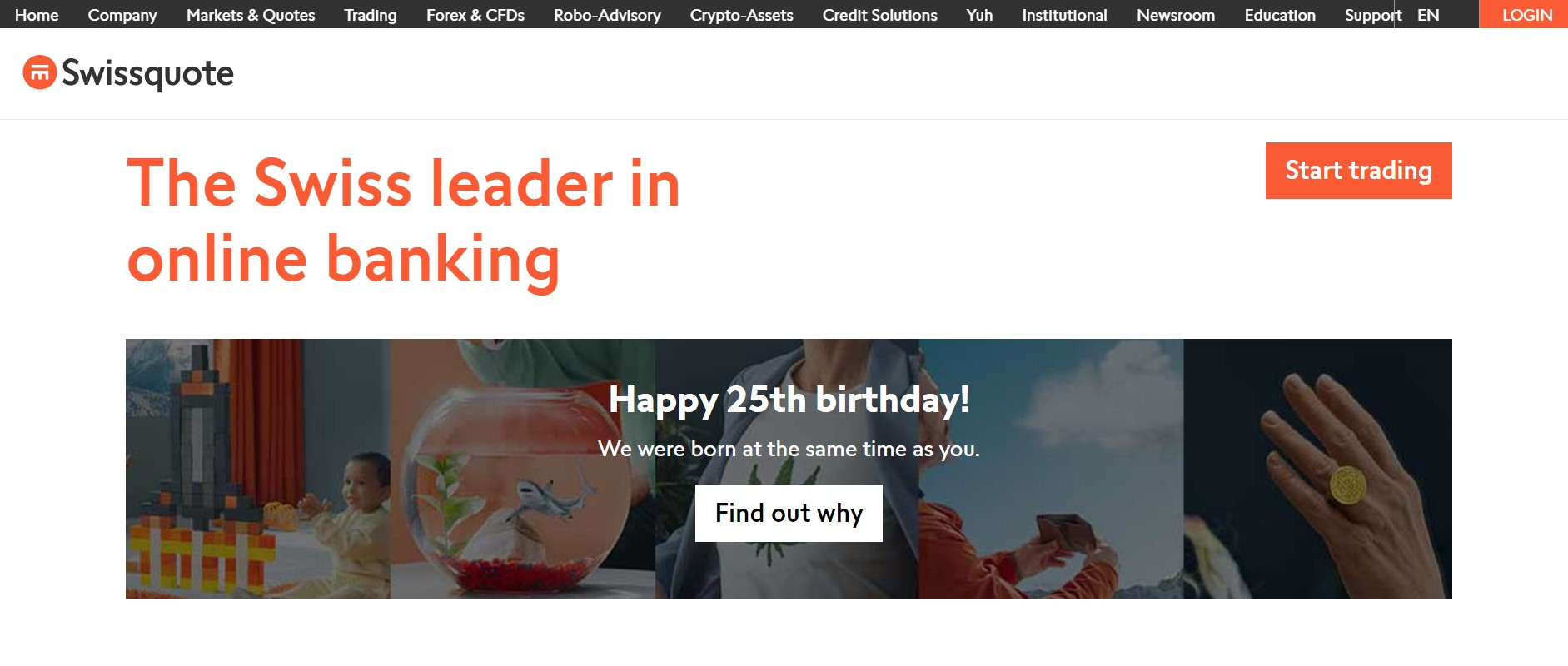 Swissquote website