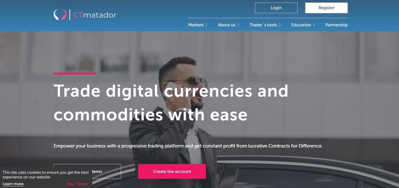 CTmatador website
